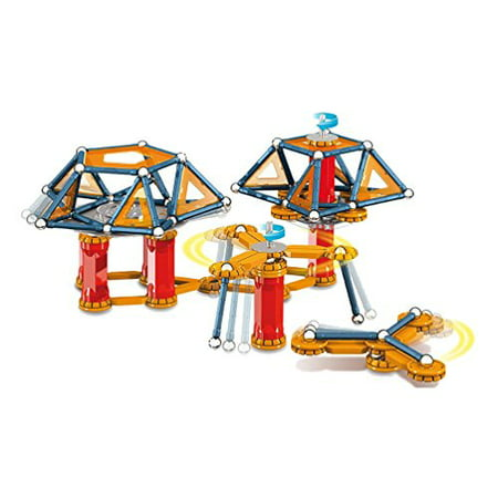 GEOMAG Mechanics 164 Piece Construction Set