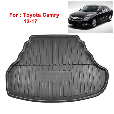 Car Rear Trunk Liner Cargo Mat Floor Tray for Toyota Camry 12-17 ()