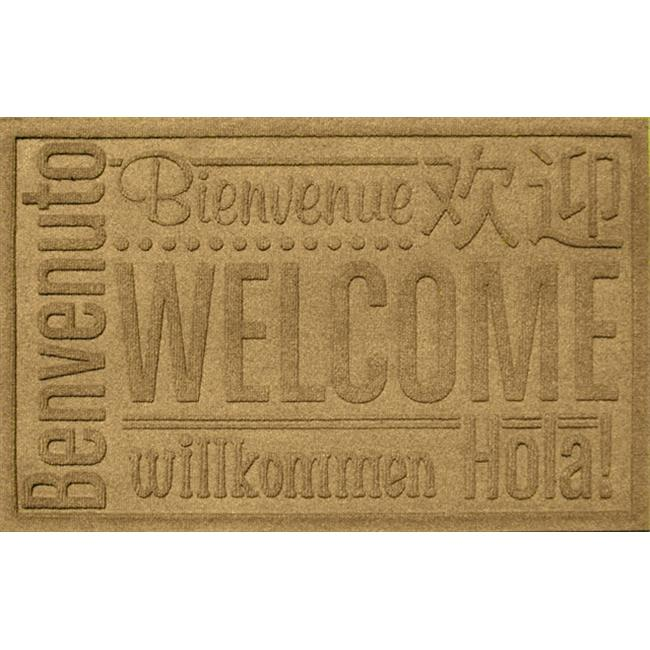 Bungalow Flooring Water Guard World Wide Welcome Mat in