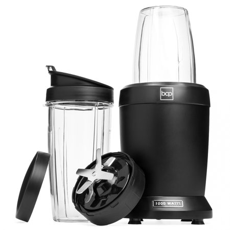 Best Choice Products 1000W Nutrition Blender Extractor with 800mL Travel Cup and 1L Jars, Suction Cup Base,