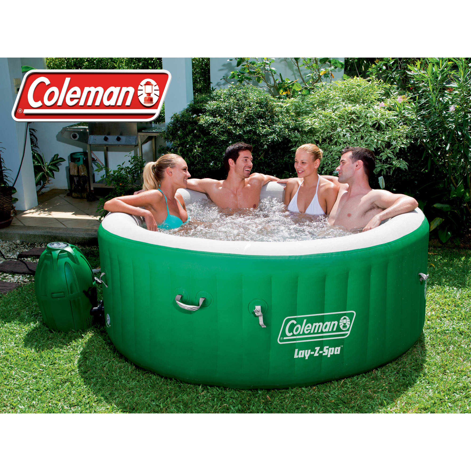 Coleman Lay-Z Mage Portable Spa for 4-6 People As Low As $291.14 on