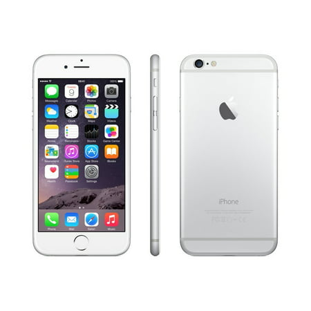 iPhone 6 64GB Silver (Virgin Mobile) Refurbished Grade