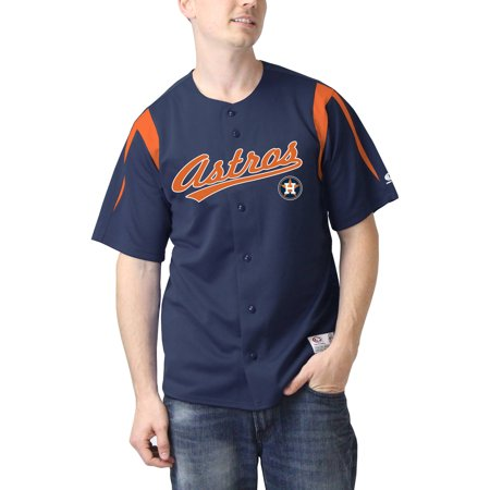 MLB Houston Astros Mens Color Block Jersey by