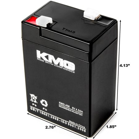 KMG 6 Volts 4.5Ah Replacement Battery for Chloride B200X7 - image 3 of 3