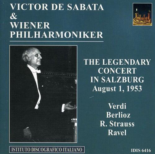 Verdi/Strauss - Legendary Concert in Salzberg [CD]