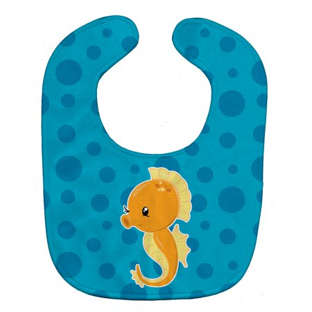 Nautical Seahorse Baby Bib - Seahorse For Baby