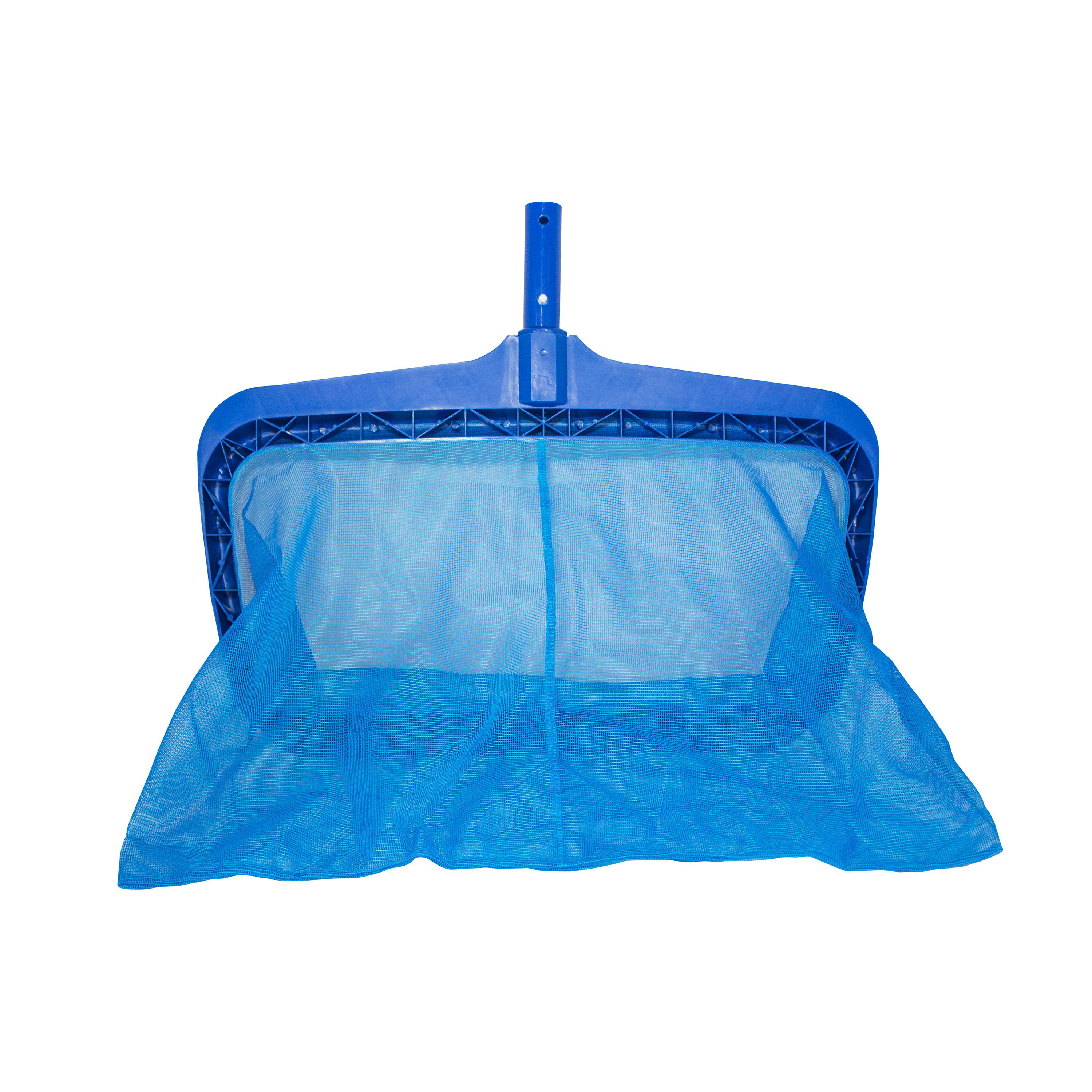 Swimming Pool Leaf Rake Pro with Small Soft Net