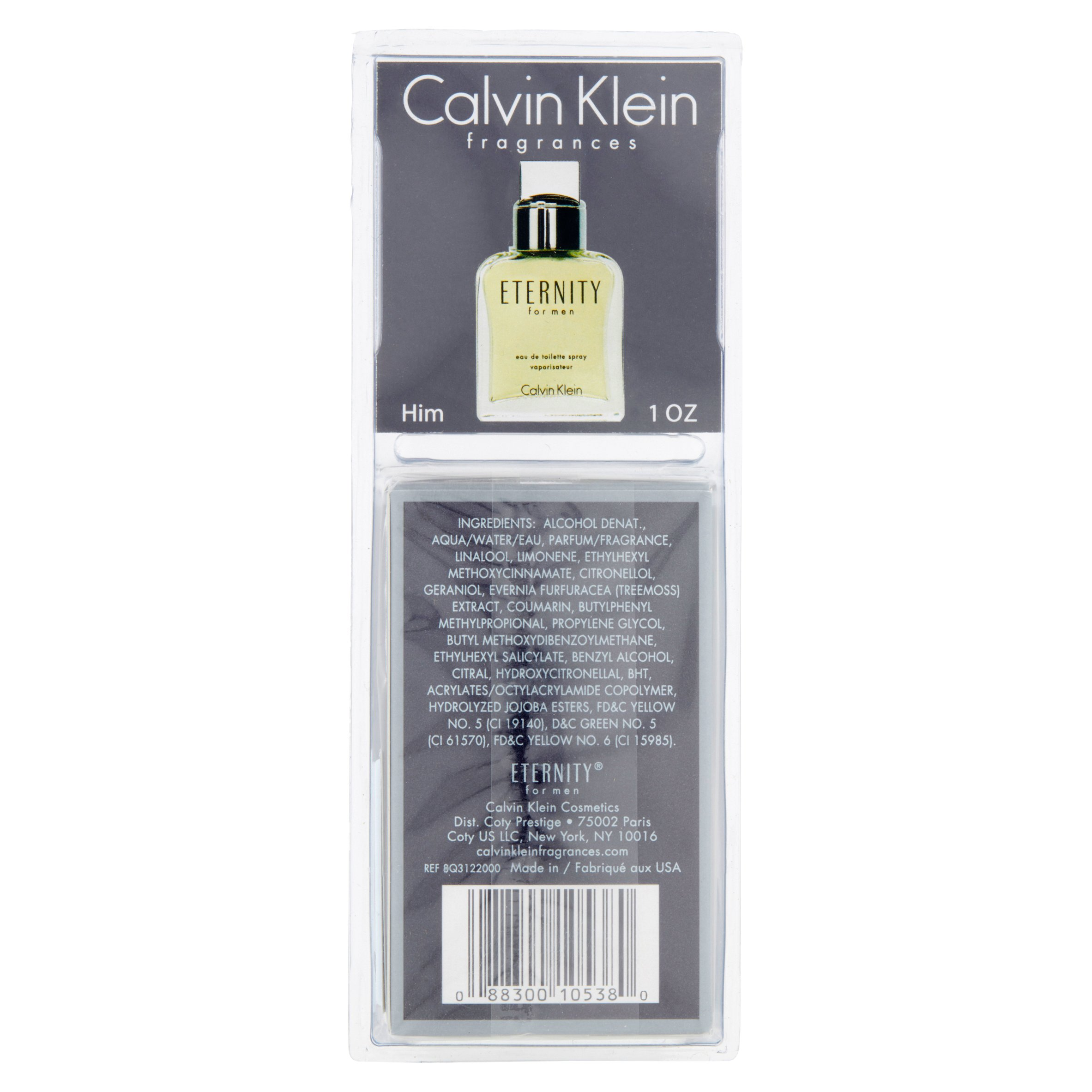 Calvin Klein Beauty Eternity Cologne For Men 1 Oz Man