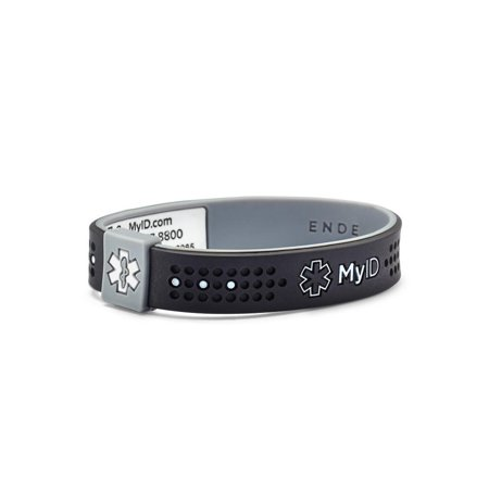 Medical Medical Id Bracelet - MyID Sport Medical ID Bracelet, Online Profile, Medical information System