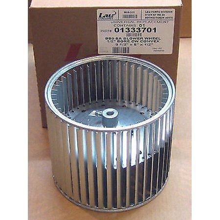8 Axial Blower (013337-01 Lau DD9-8A Blower Wheel Squirrel Cage 9-1/2