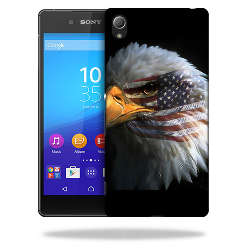 MightySkins Snap-On Protective Hard Case Cover for Sony Xperia Z4 Eagle Eye
