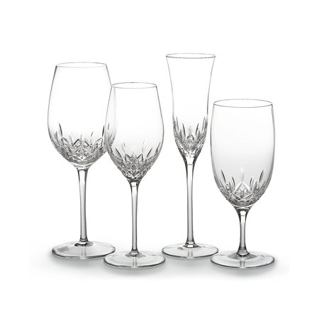 Crystal Lismore Essence Water Glass, Fast
