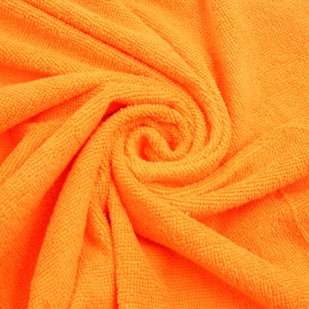 Bright Orange One Size Hook Loop Closure Tube Top Bath Spa Towel Robe Dress - image 2 de 5