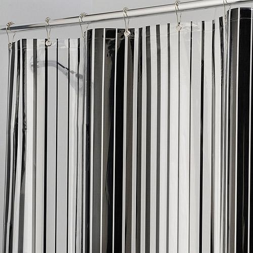 InterDesign Graduated Lines Shower Curtain