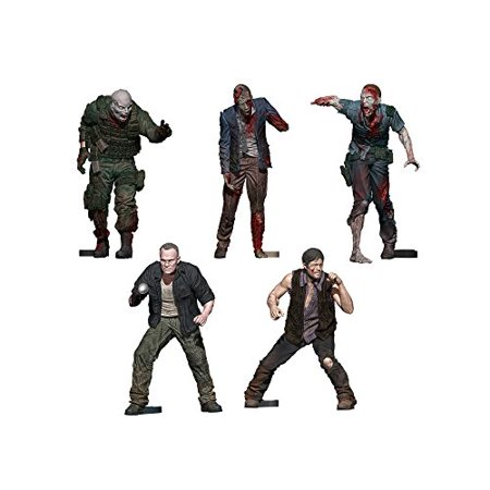 McFarlane Toys Construction Sets, The Walking Dead TV Merle & Daryl Woodbury Arena Pack Action Figure - image 1 of 1