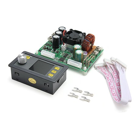 - DPS5015 Constant Voltage Current Step-down Programmable Digital Power Supply buck Voltage converter Digital Power Supply Module color LCD voltmeter 15A