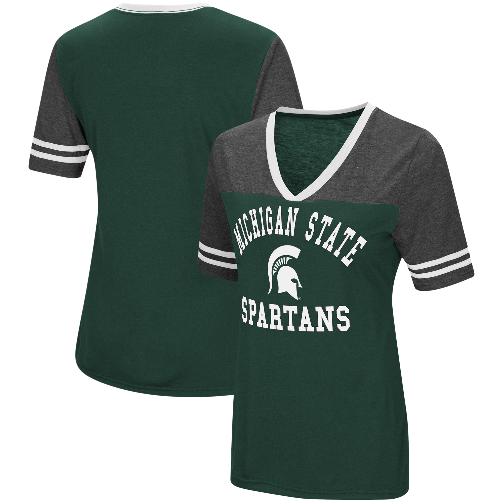 Colosseum Womens Michigan State Spartans Gym Shorts