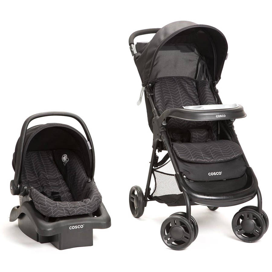 Cosco Lift and Stroll Plus Travel System, Black Arrow