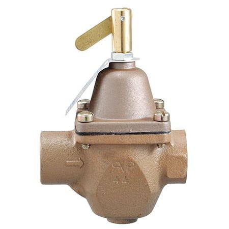 Watts 1156F-A 1/2 In Pressure Regulator, 10 to 25 psi