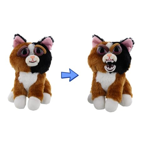Calico Cat With Interesting Gps >> Feisty Pets By William Mark Mary Monstertruck Adorable 8 5 Plush