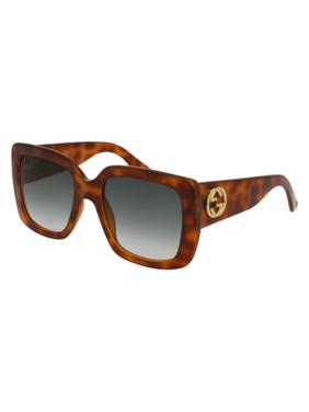 730de8488c Product Image Gucci GG0141S 002 Havana Square Sunglasses