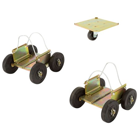 Ice Snowmobile (Black Ice Snowmobile Off-Road Drivable Wheel Dolly)
