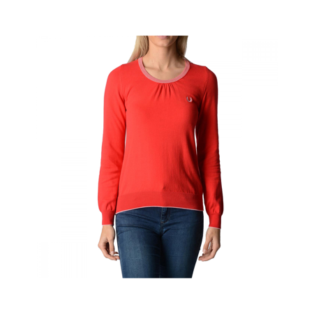 Fred Perry Womens Sweater 31412114 0034 Red XXL