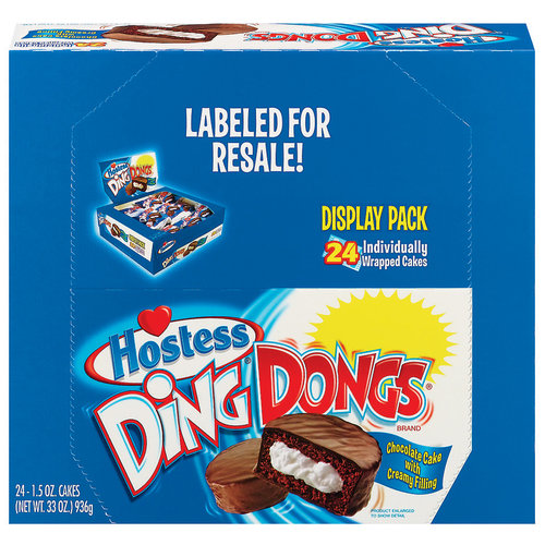 Interstate Brands Hostess  Ding Dongs, 24 ea
