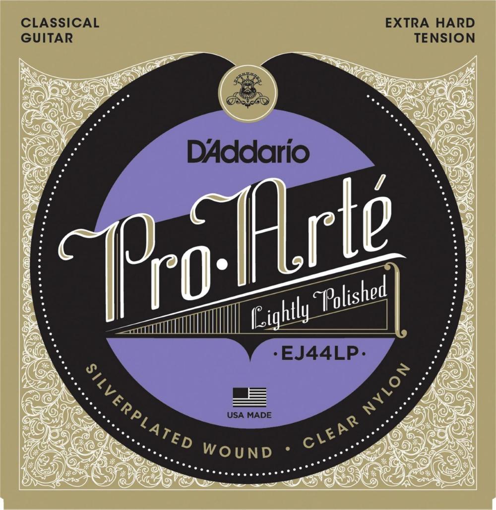 D'Addario EJ44LP Pro-Arte Composites Extra Hard Tension Classical Guitar Strings by D'Addario