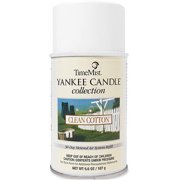 TimeMist Yankee Candle Collection Clean Cotton 30-Day Metered Air System Refill, 6.6 oz