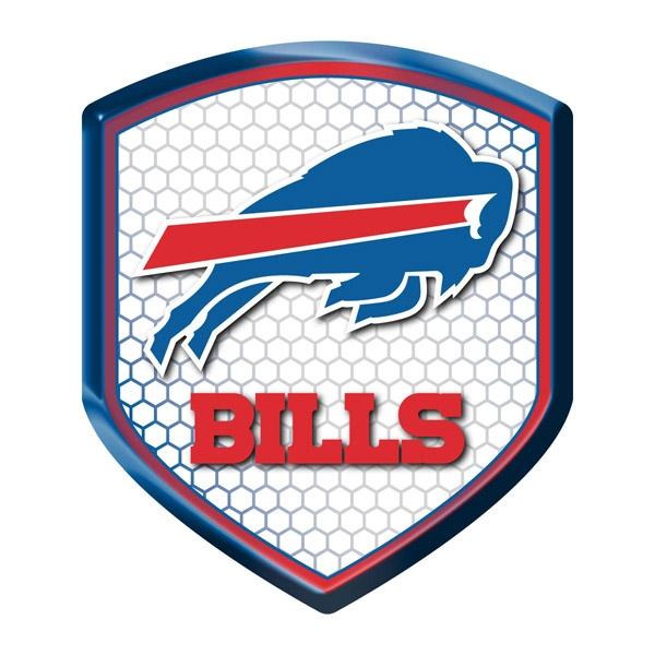 Buffalo Bills NFL Licensed Team Logo Shield Reflector