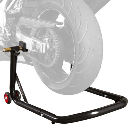 Black Widow Rear Motorcycle Stand Lift Pad Kit - Black Widow Real Name