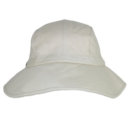 Sun N Sand Women's Cotton Packable Facesaver Hat with Adjustable Toggle - image 1 de 3