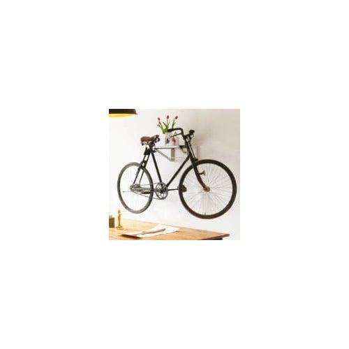 NestedNY 1 Bike Shelf Wall Mounted Bike Rack