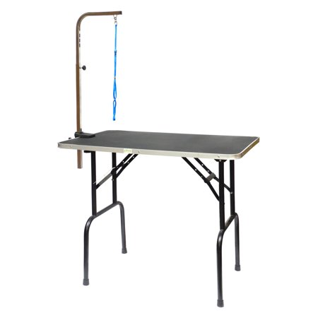 Go Pet Club Dog Grooming Table with Arm (Go Go Pets Set)