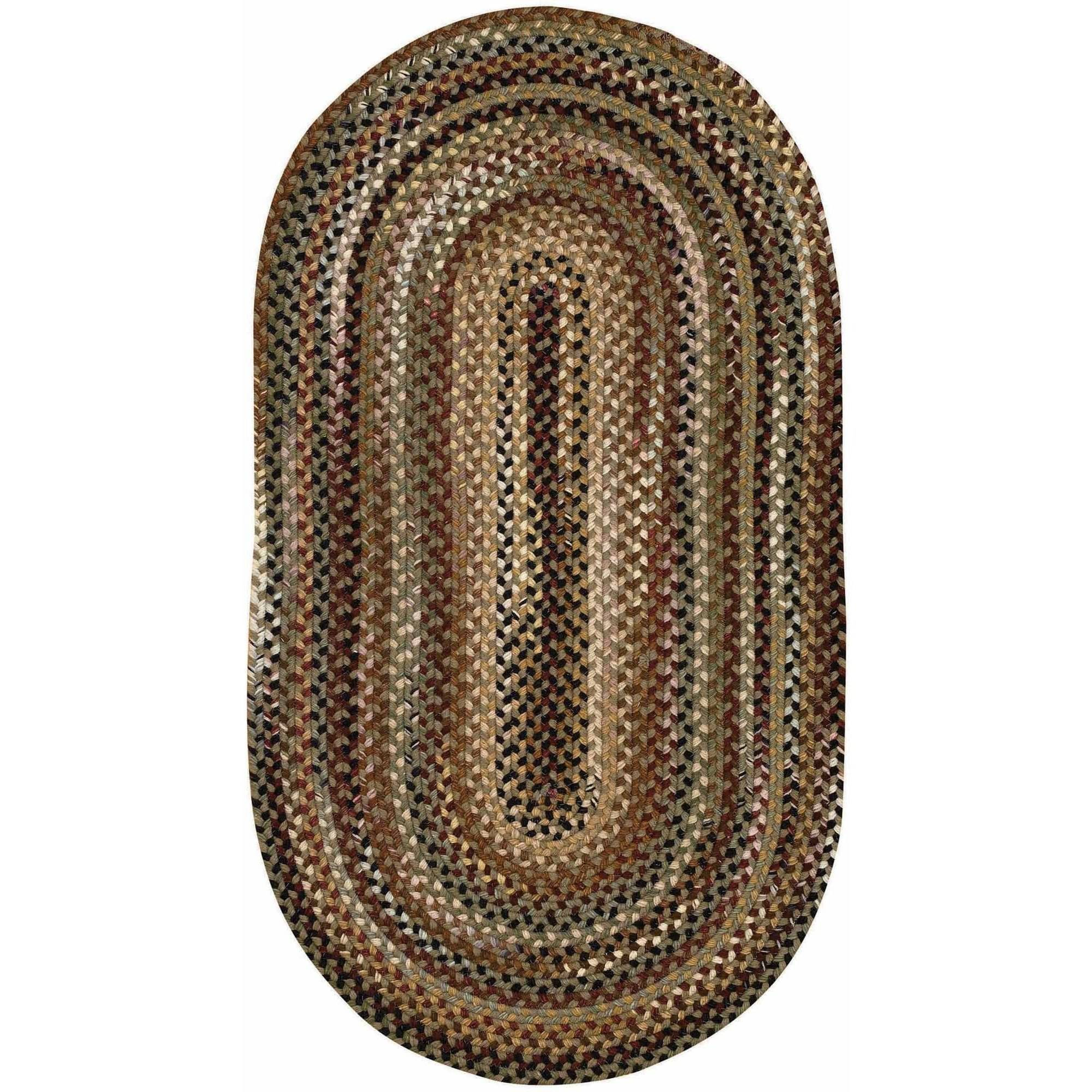 Bangor Oval Braided Area Rug