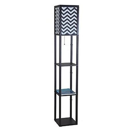 Q max 6958bk b wooden shelf 63 in column floor lamp black q max 6958bk b wooden shelf 63 in column floor lamp black aloadofball Choice Image
