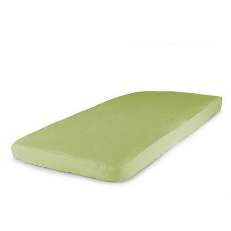 Carter's Bassinet Jersey Fitted Sheet, Apple Green (Green Apple Sheets)