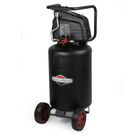 - Briggs & Stratton Air Compressor 20-Gallon Vertical Tank, 0332046
