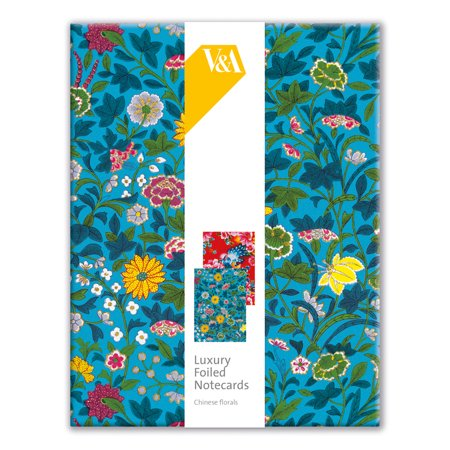 Museums & Galleries Luxury Foiled Boxed Notes V&a Museum Chinese Florals (Other)