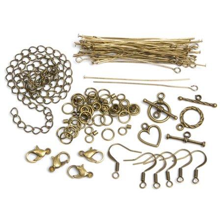 Cousin de 479962 bijoux Basics m-talliques conclusions 145-pkg-Antique Gold Starter Pack - image 1 de 1