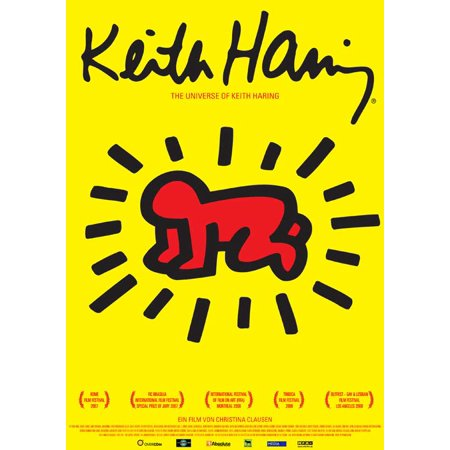 The Universe of Keith Haring (2008) 11x17 Movie Poster (German)