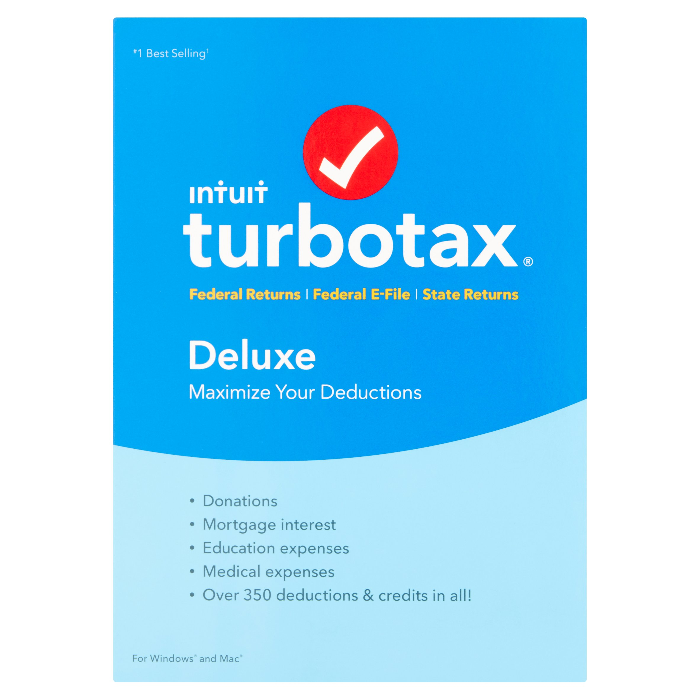 Intuit Turbotax Maximize Your Deductions Deluxe Software