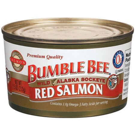 Bumble Bee Wild Alaska Sockeye Red Salmon, 7.5 oz