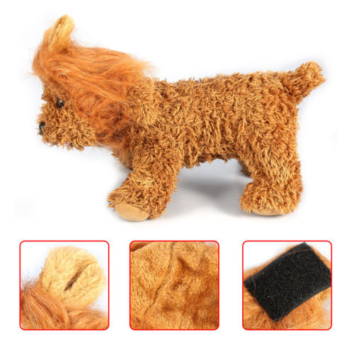 Pet Costume Lion Hair Mane Wig for Dog Cat Halloween Dress up with Ears