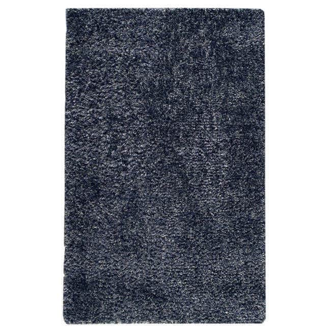MA Trading M.A.Trading Hand-woven Malibu Blue Wool/ Polyester Rug (5' x 8') (India)
