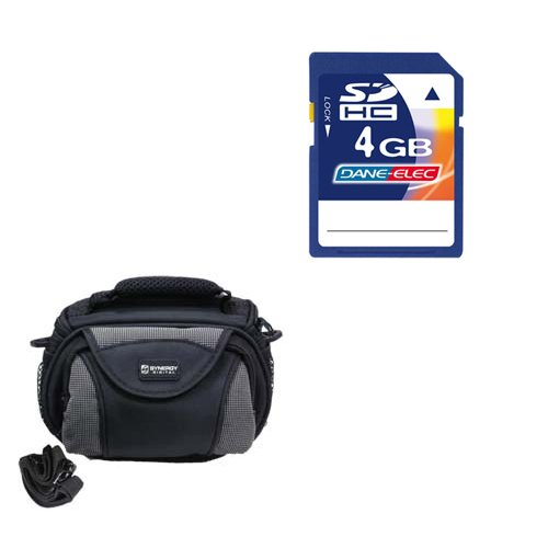 JVC GZ-R10 Camcorder Accessory Kit includes: KSD4GB Memory Card, SDC-26 Case