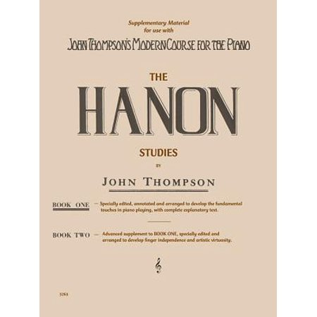 - Hanon Studies - Book 1 : Elementary Level