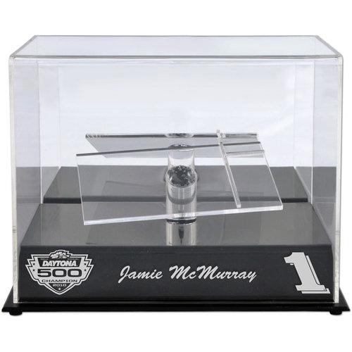 Jamie McMurray 2010 Daytona 500 Winner 1/24th Die Cast Display Case with Platform