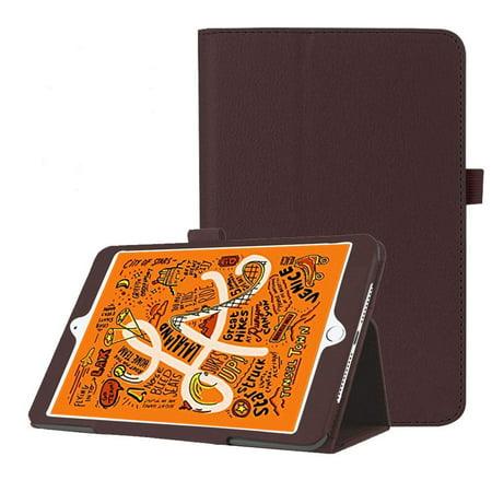 Epicgadget Case for iPad Mini 5 2019, Auto Wake/Sleep Slim Lightweight PU Leather Folding Stand Cover Case for iPad Mini 5th Generation 7.9 Inch Display